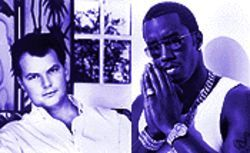 Sample king Puff Daddy praying at the altar of MOR godhead Christopher Cross.