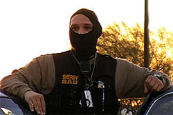 One of Joe Arpaio's masked enforcers.
