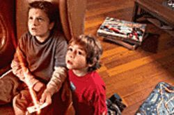 Space odyssey: Josh Hutcherson (left) and Jonah Bobo are caught up in an interstellar game called Zathura.