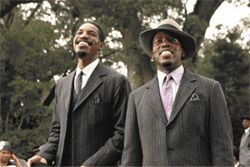 Georgia on their minds: André Benjamin (left) and Antwan A. Patton are part of a loving re-creation of the old South in Idlewild.
