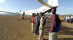 Out of the frying pan and into the U.S.: Refugees from Sudan face dangers to body and spirit in God Grew Tired of Us.