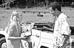 50 ways to meet your lover: Drew Barrymore and Adam Sandler in 50 First Dates.