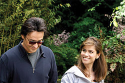 Daddy issues: John Cusack and Amanda Peet discuss what might've compelled them to sign on to do Martian Child.