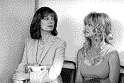 They're still with the band: Susan Sarandon and Goldie Hawn relive the high life in The Banger Sisters.