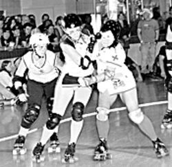 Roller girls, don&#039;t worry.