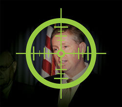 Target Thomas: If the feds pull the trigger, there's plenty of legal ammo to put Andy in the hoosegow.