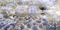 White House Garden by Oscar Oiwa