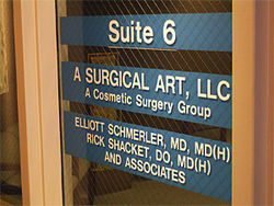 Dr. Elliott Schmerler and Dr. Rick Shacket have an office in Scottsdale.