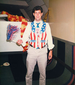 Christopher Mathis (now a Dem) at the 1988 Republican National Convention.