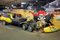 Fletcher's Pirate Surfmobile on display at the Scottsdale International Auto Museum.
