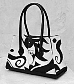 A purse by Virgil Ortiz