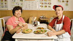 Using their noodles: Susan and Michael Leung turn out top-notch Chinese fare at Asian Café Express.