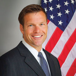 Kansas Secretary of State Kris Kobach, committed nativist and Romney immigration adviser.