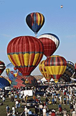 The Arizona Balloon Festival takes place at Tumbleweed Park.