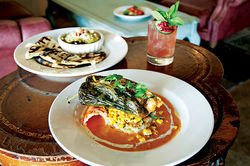 The lobster baked chile relleno is enough to cause a serious case of dish envy.