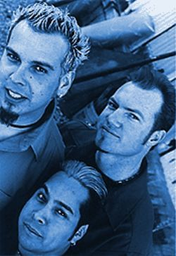 Nine Volt, clockwise from top left: Andy Mendoza, Andy Mitchell and Stevie Flores.