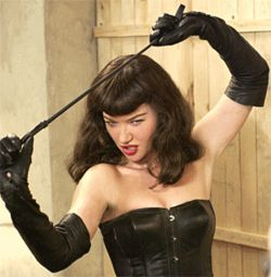 Whip it: Gretchen Mol is The Notorious Bettie Page.