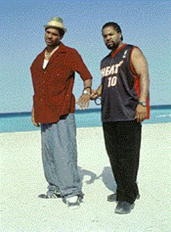 Hip to be Cube?: Ice Cube (right) puts his cool cred on the line in the gangsta-actioner All About the Benjamins.