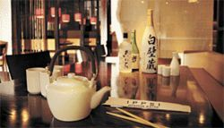 Sake to me: Ippei general manager Justin Cohen would not allow any photos of his restaurant&#039;s food. His lack of confidence is telling.