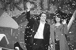 Love, British style: Hugh Grant (with Martine McCutcheon) is first among equals in the star-studded Love Actually.