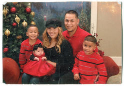 Octavio Castaneda Flores, his wife, Brenda, and their three children, each of whom is a U.S. citizen.