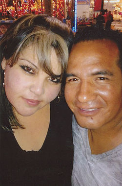 Luz Ruiz Rascon and her husband, Juan Camacho, who has had to be both father and mother to their two children during Rascon&#039;s six-month incarceration.
