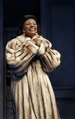 Blueblood: Tony winner Leslie Uggams heads up the cast of Arizona Theatre Company's current production.