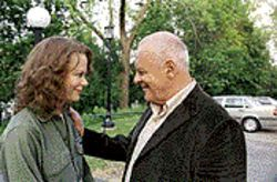 Nicole Kidman and Anthony Hopkins plunge into a complex and compelling love affair in The Human Stain.