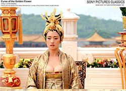 The Empress&#039; new groove: Gong Li stars in Curse of the Golden Flower.