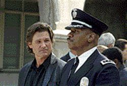 L.A. story: Kurt Russell and Ving Rhames are cops and adversaries in Dark Blue.