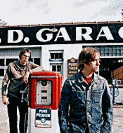 Key players: Patrick Carney (left) and Dan Auerbach are the Black Keys.