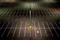 Parking Lot was created on ASU's Tempe campus.