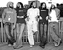 All in the family: The Marley brothers carry dad's musical  torch.