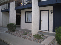The SceneOne Condominiums in Tempe, where Kathleen Smith was murdered in 1984.