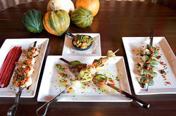 Skewers of wood-fired meat take center stage at Scottsdale's Bonfire Grill and Bar.