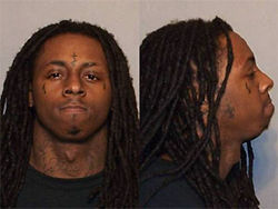 Rapper Lil Wayne was arrested in January at the I-8 East checkpoint.