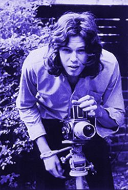 "Manic depressive musical icon Nick Drake: ""Smile, you're on Lachrymose Camera."""