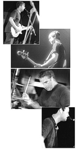 Jimmy Eat World: From top, Jim Adkins, Rick Burch, Zach Lind and Tom Linton.