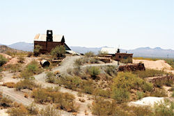 Parts of Vulture Mine, in Wickenburg