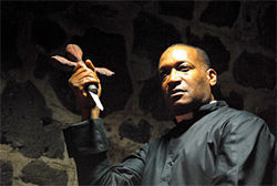 Tony Todd plays Reverend Stockton in The Graves.