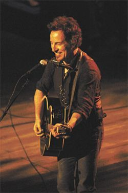Everybody knows who's Boss: Bruce Springsteen