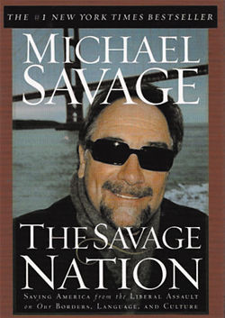 """Burn a Mexican flag for America,"" spat talk jock Michael Savage on his March 27, 2006, show. ""Burn 10 Mexican flags if I could recommend it."""
