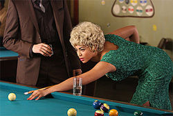 Playing with the truth: Beyonc&amp;eacute; Knowles stars as Etta James in Cadillac Records.