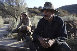 Hard, stoic, and a killer: Daniel Day-Lewis as the fiery oilman Daniel Plainview in There Will Be Blood.