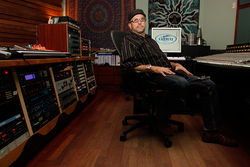 Saltmine Studios owner Don Salter, who recorded the bulk of DMX's new songs.