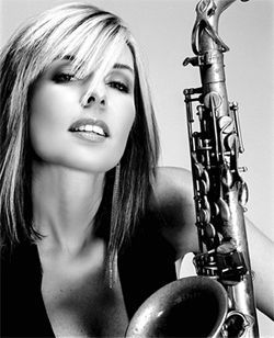Saxy lady: Candy Dulfer