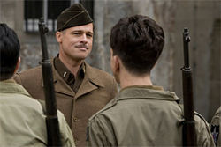 Quentin Tarantino's Inglourious Basterds went largely unrecognized at the 62nd Cannes Film Festival.