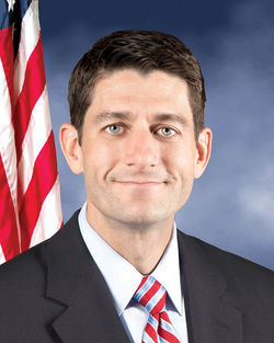 GOP vice presidential nominee Paul Ryan