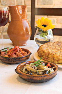 Chef Joseph Gutierrez brings scrumptious, affordable tapas, great sangria, and a vibrant atmosphere to SouthBridge in Old Town Scottsdale.