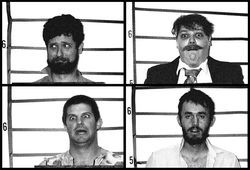 "The various ""suspects"" wanted for The Chronicles of Sheriff Joe compilation."